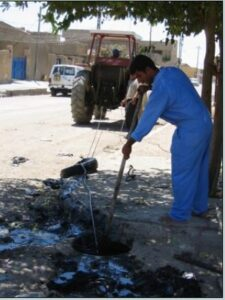Clean-up campaign in Kirkuk. August, 2003. (Courtesy of Holly Hughson/Released)