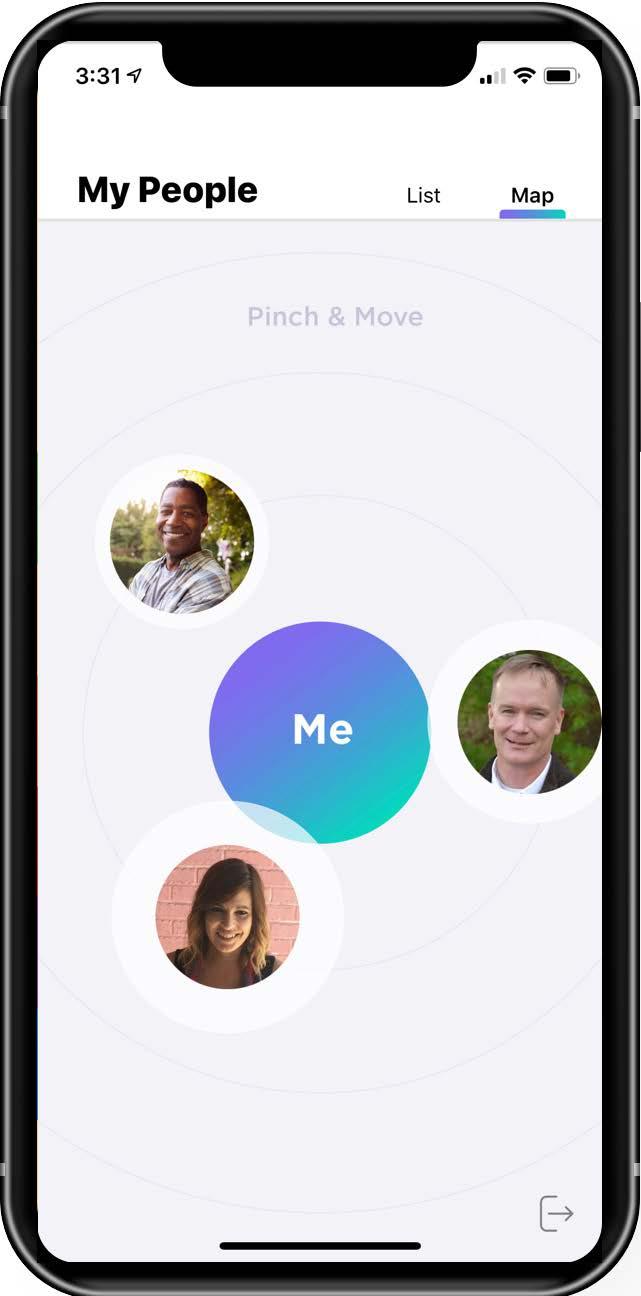 Figure 1. Screenshot from the Voi Reach app.