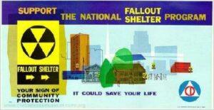 1962 Civil Defense Bus/Subway Poster (Courtesy of www.civildefensemuseaum.com/Released)