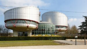Figure 1. European Court of Human Rights building (Courtesy of en.wikipedia.org/Released)