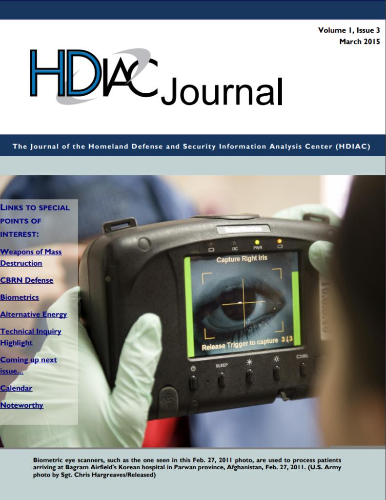 HDIAC Journal 2015 - Volume 1 Issue 3