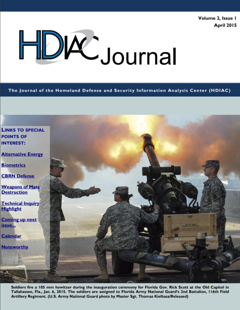HDIAC Journal Spring 2015 - Volume 2 Issue 1