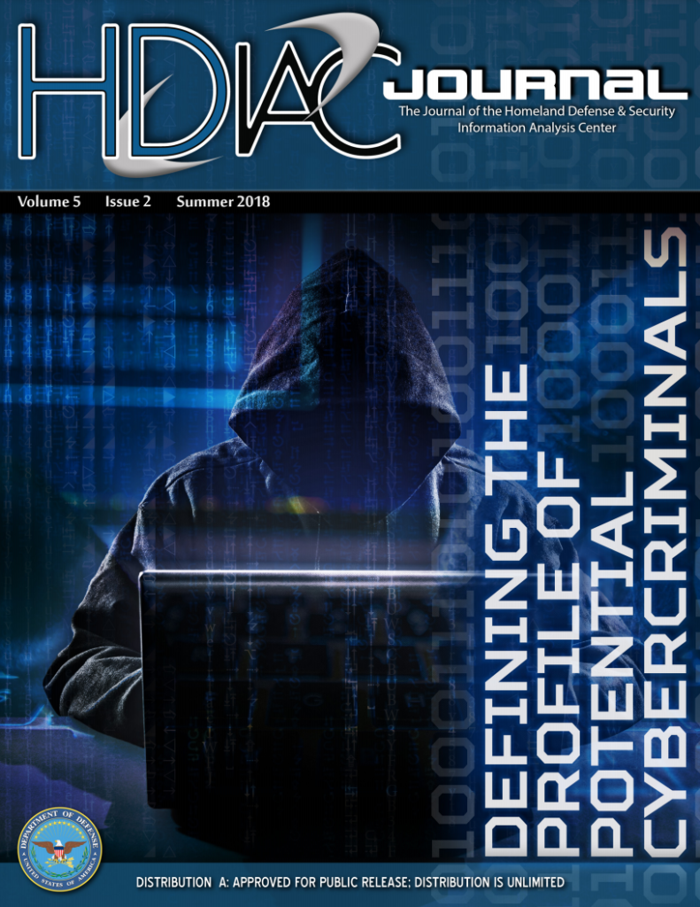 HDIAC Journal Summer 2018 - Defining the Profile of Potential Cybercriminals