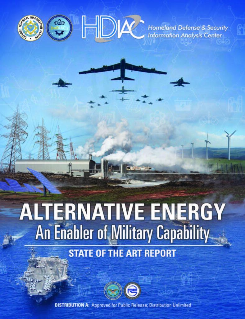 Alternative Energy: An Enabler of Military Capability